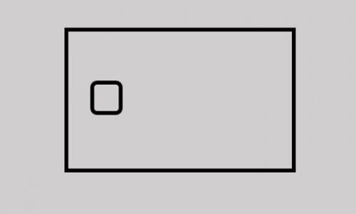 receveur de douche icone